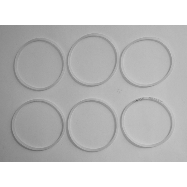 6 Pack Replacement Gaskets Compatible with Ma...