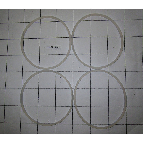 4 Pack Replacement Gasket Compatible with Cooks 5-in-1 Power Blender Gaskets