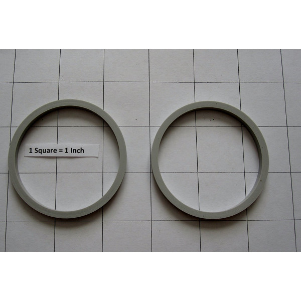 2 Pk Replacement Gasket Compatible with Oster My Blend Personal Blender 250 Watts