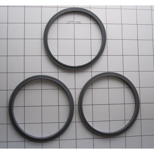 3 Pack Replacement gasket Compatible for Nutr...