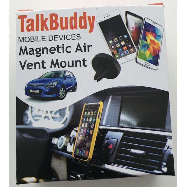 Talkbuddy Magnetic Air Vent Mount for Cell Phones ...