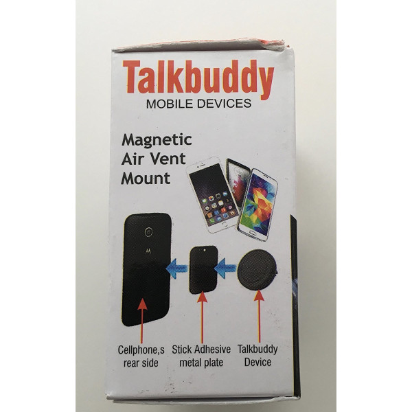 Talkbuddy Magnetic Air Vent Mount for Cell Phones and Mobile devices